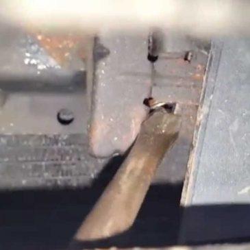 Opening a Truck Hood
