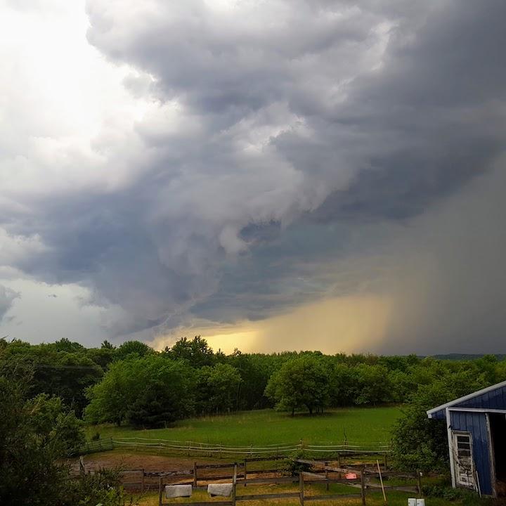Thunderstorm in Wisconsin