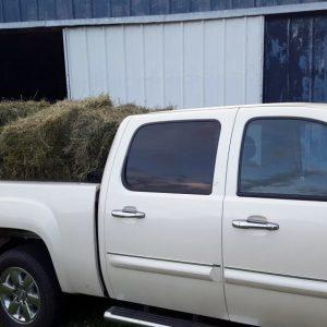 Farm Truck Hauling Hay