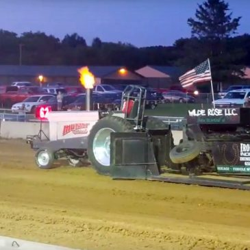 An Evening of Tractor Pulling