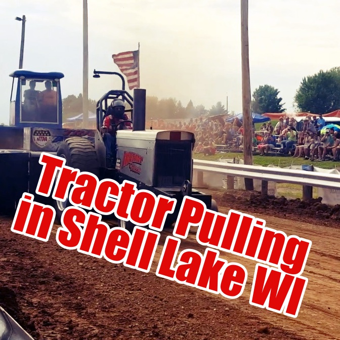Tractor Pulling in Shell Lake Wisconsin